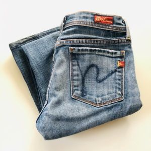 Citizen Of Humanity Flared Jeans Size 25 Low Waist
